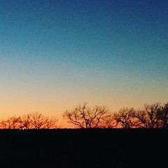 Love #sunsets in #Texas.