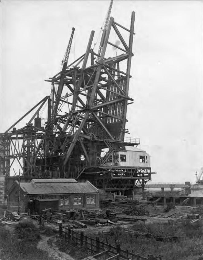 Keadby Bridge under Construction