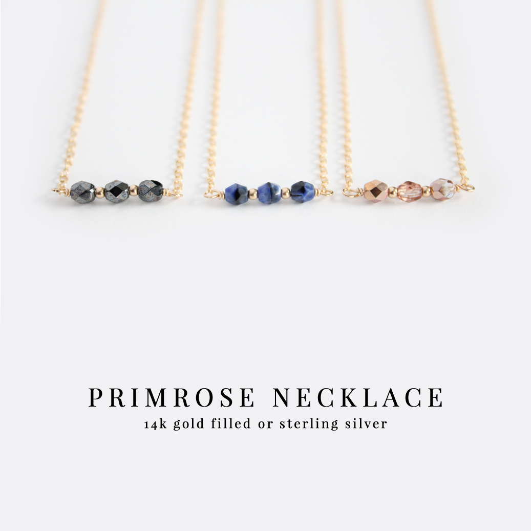 Primrose Necklaces