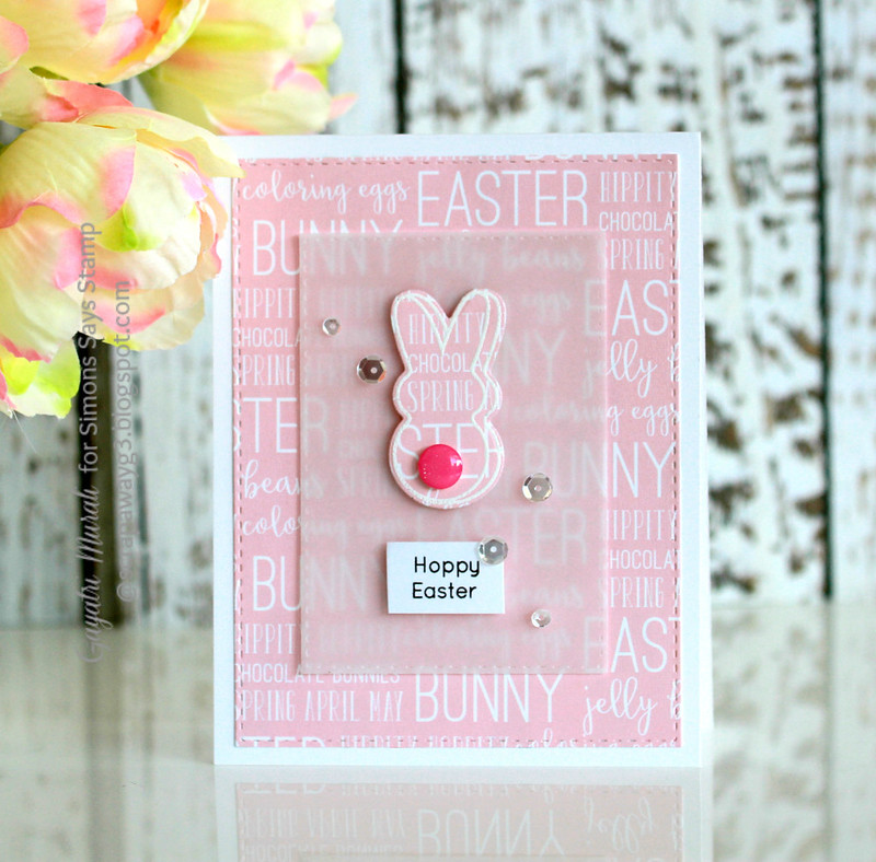 Happy Easter pink script