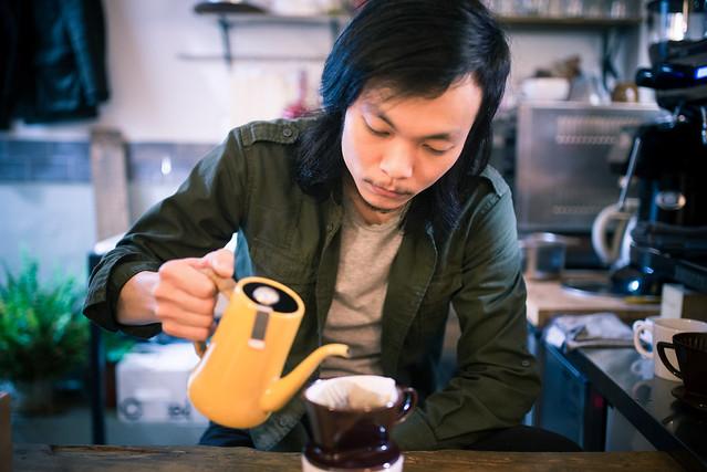 台北 萬華–隨興的自由–森耕咖啡商行