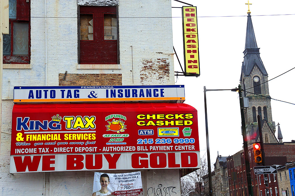 KING TAX n FINANCIAL SERVICES WE BUY GOLD--Girard Avenue