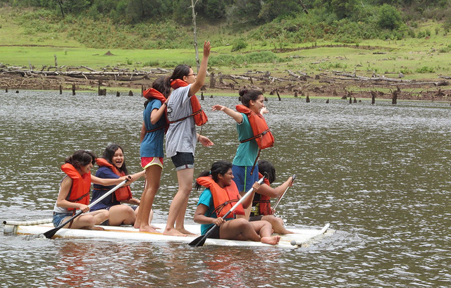 Raft Building Challenge Near Bangalore