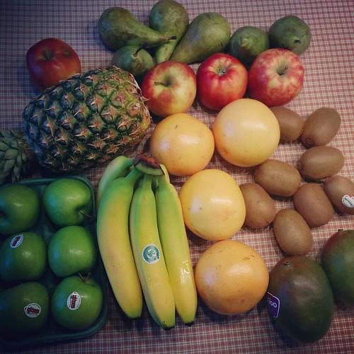 Fruitvoorraad van de week. Klaar voor een variatie aan ontbijten en tussendoortjes! ✔️ #healthylife #healthybreakfast #fruit #fruitmand #gezondontbijt #healthysnack