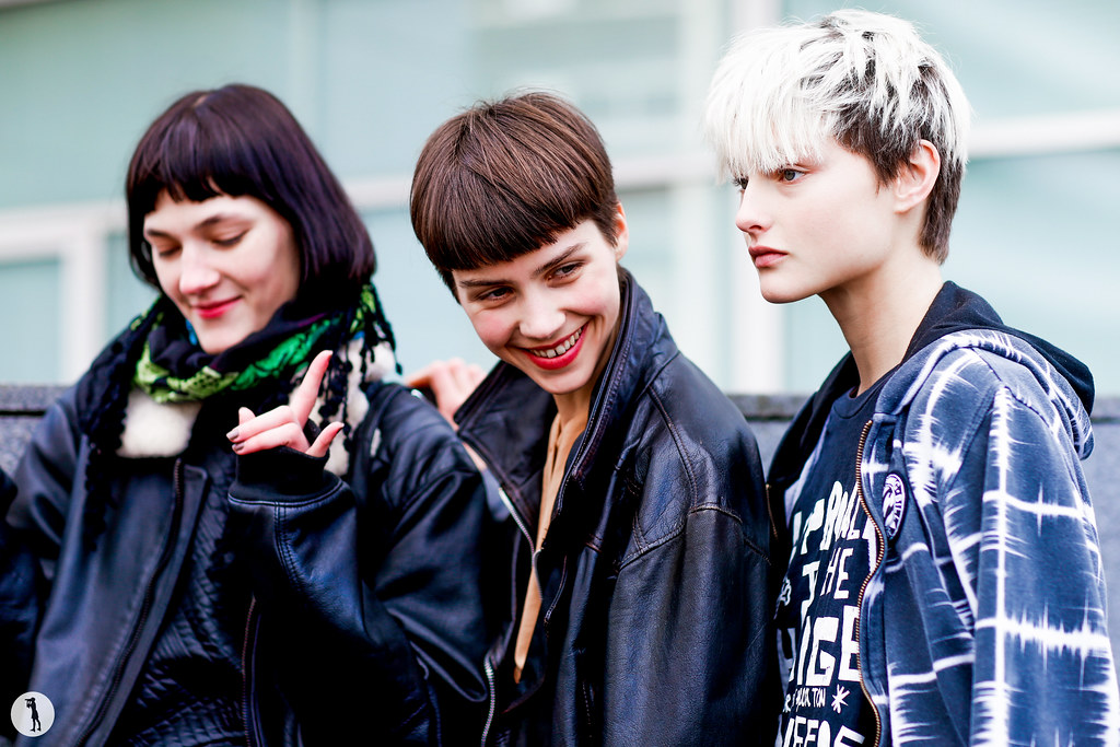 Models Liene Podina, Eli Bauer and Litay Marcus - Paris Fashion Week RDT FW16-17 (2)