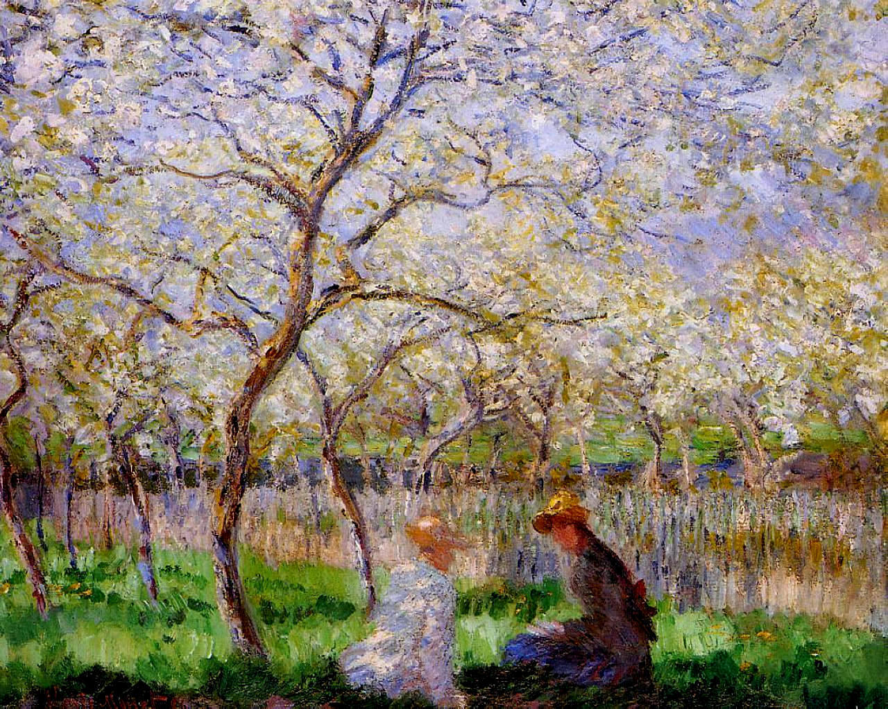 Springtime by Claude Monet, 1886