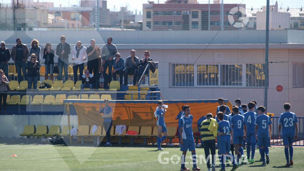 Liga Infantil. Villarreal CF 2-1 Club La Vall (09/04/2016), Jorge Sastriques