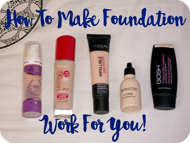 How to make foundation work for you tips