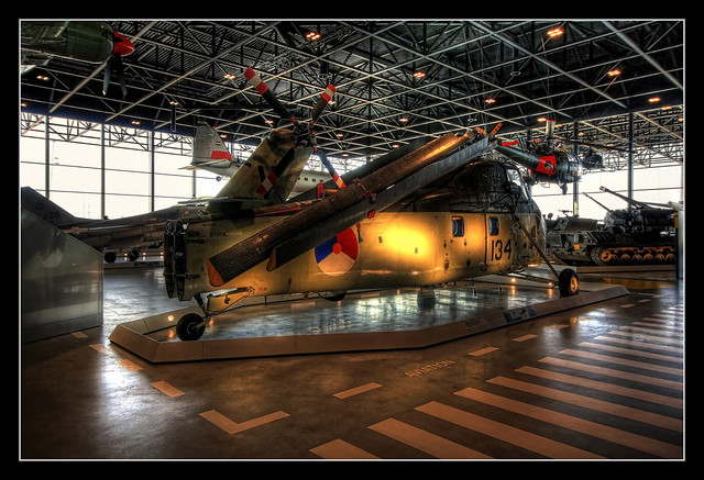 Soest NL - National Military Museum -  Sikorsky UH-34J 02