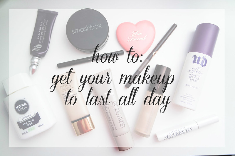 beauty tuesday: how to get your makeup to last all day