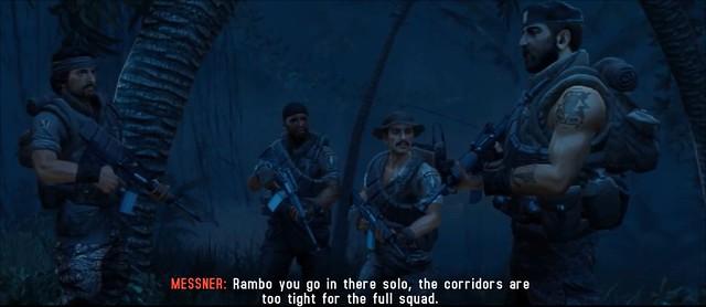 Rambo The Video Game: Baker Team
