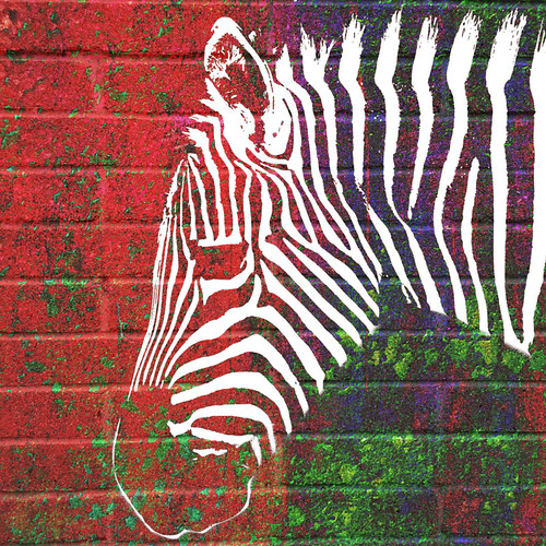 Animal digital collage