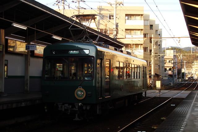 """2016/01 叡山電車731号車""""ノスタルジック731"""" #01"""