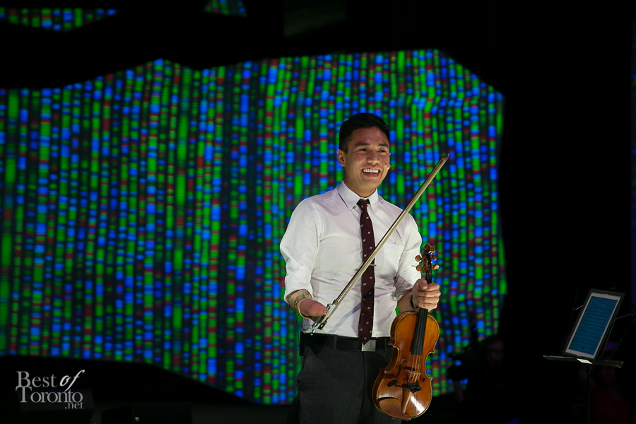 ADRIAN ANANTAWAN, a Yale and Harvard graduate, violinist, and Terry Fox Hall of Fame member. He's also performed with the Toronto Symphony Orchestra.