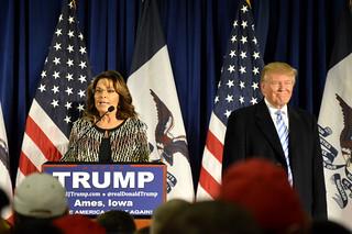 Trump and Palin at ISU - 1/19/2016