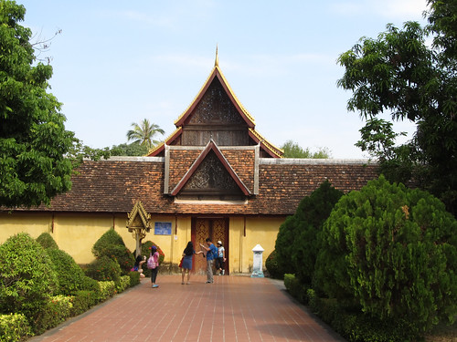Vientiane: le temple Vat Sisaket