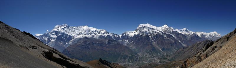 Annapurna II III IV and Gangapurna