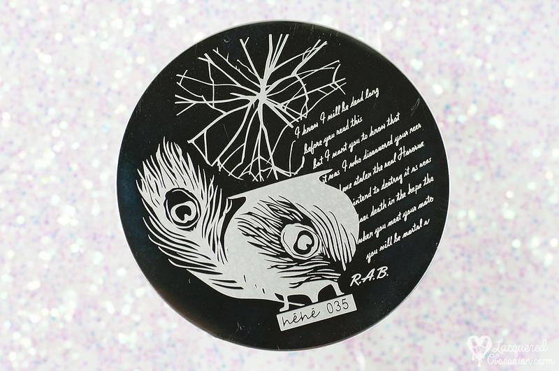 Lady Queen - Hēhē 035 stamping plate