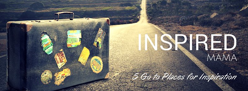 inspired mama | 5 go to places for inspiration | Agent Mystery Case