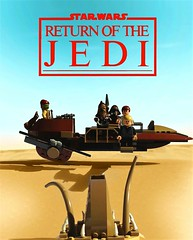 Return of the Jedi - Lego poster