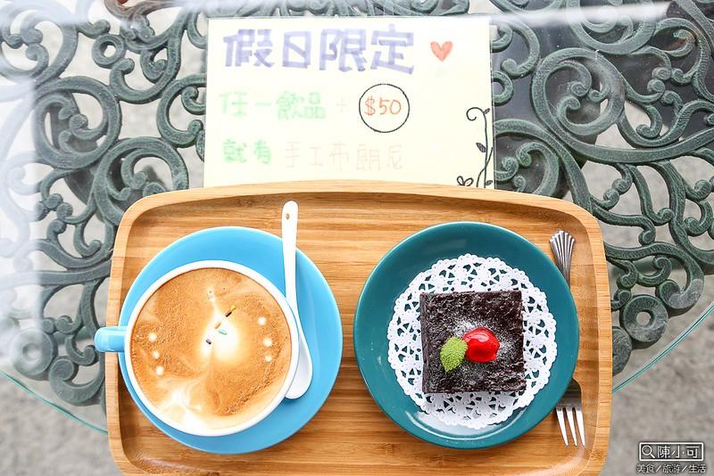 【宜蘭咖啡館】河岸咖啡,旁邊有小河的咖啡館,優閒的下午茶與夢100約會