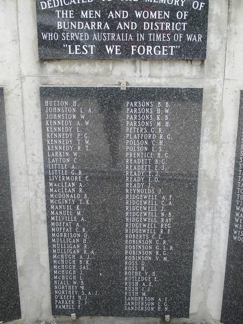 Bundara Nsw War Memorial., Canon IXUS 135