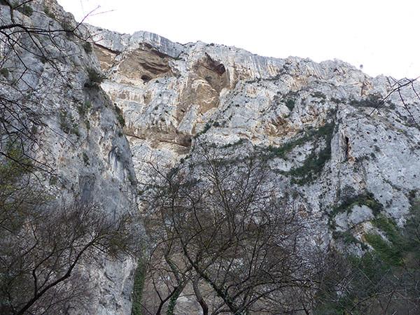 falaise calcaire