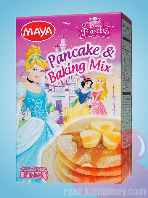 maya disney princess pancake and baking mix