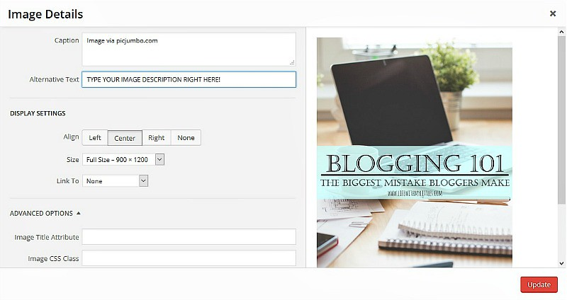 Are you making this big mistake that's preventing people from coming to your site? Click here to find out what the biggest mistake bloggers make is, and see if you're making it, too!