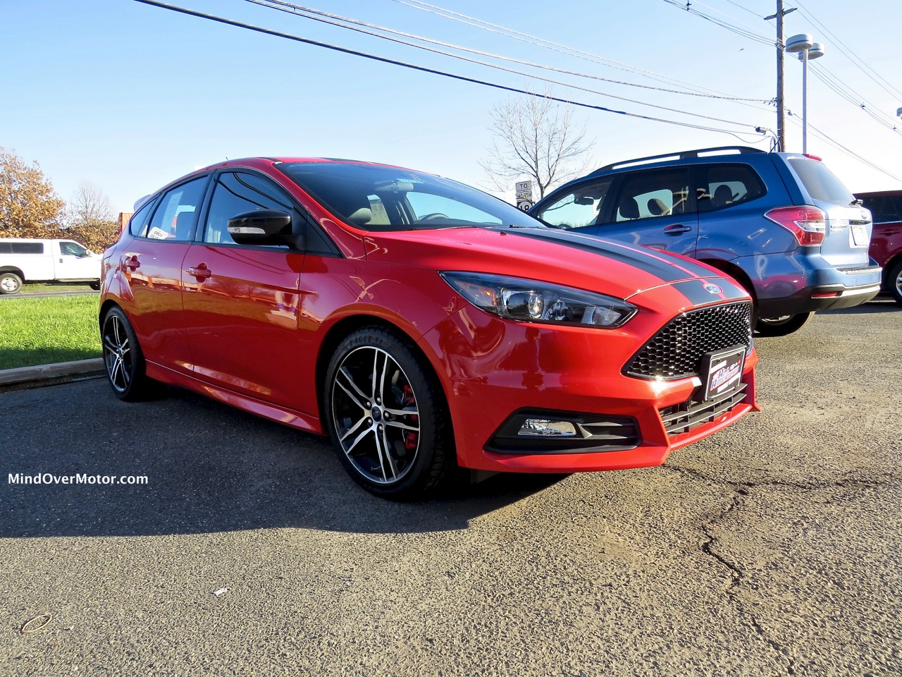 Ford Focus ST Front 2