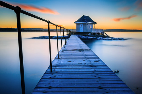 longexposure color nature oslo norway architecture clouds sunrise 35mm norge sigma lee fornebu bathhouse 10stop canon5dmarkiii