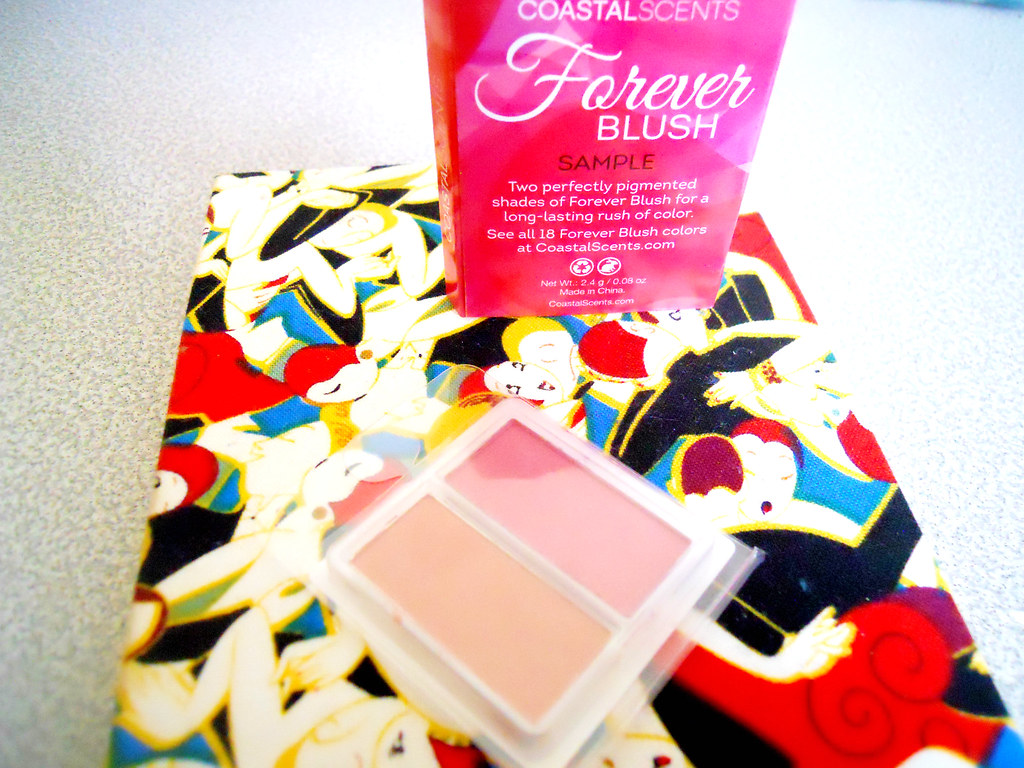 Sampled Child: Coastal Scents Forever Blush