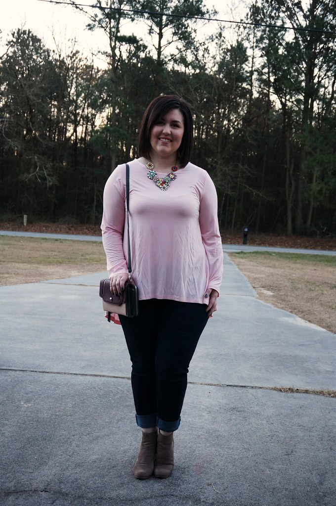 Pink Top for Valentine's Day 4