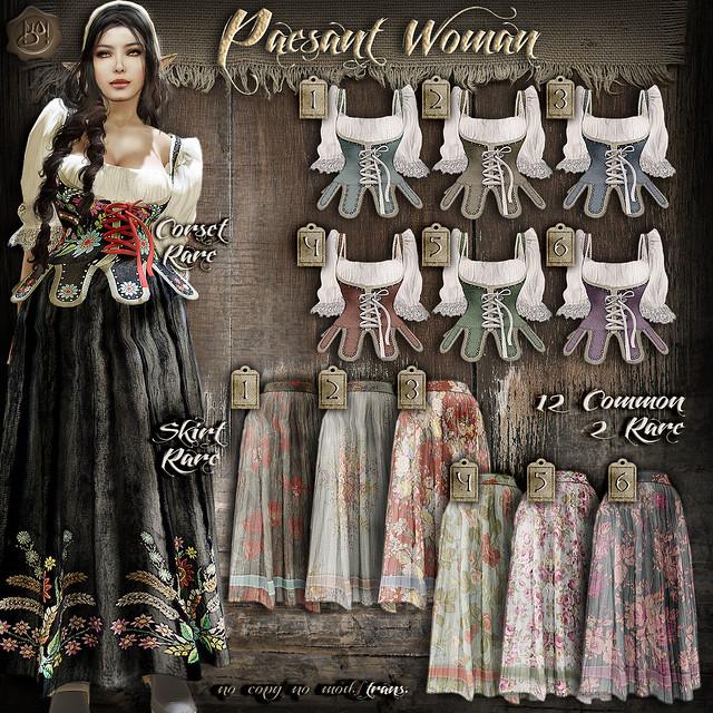 !gO! Peasant woman - Gacha Key