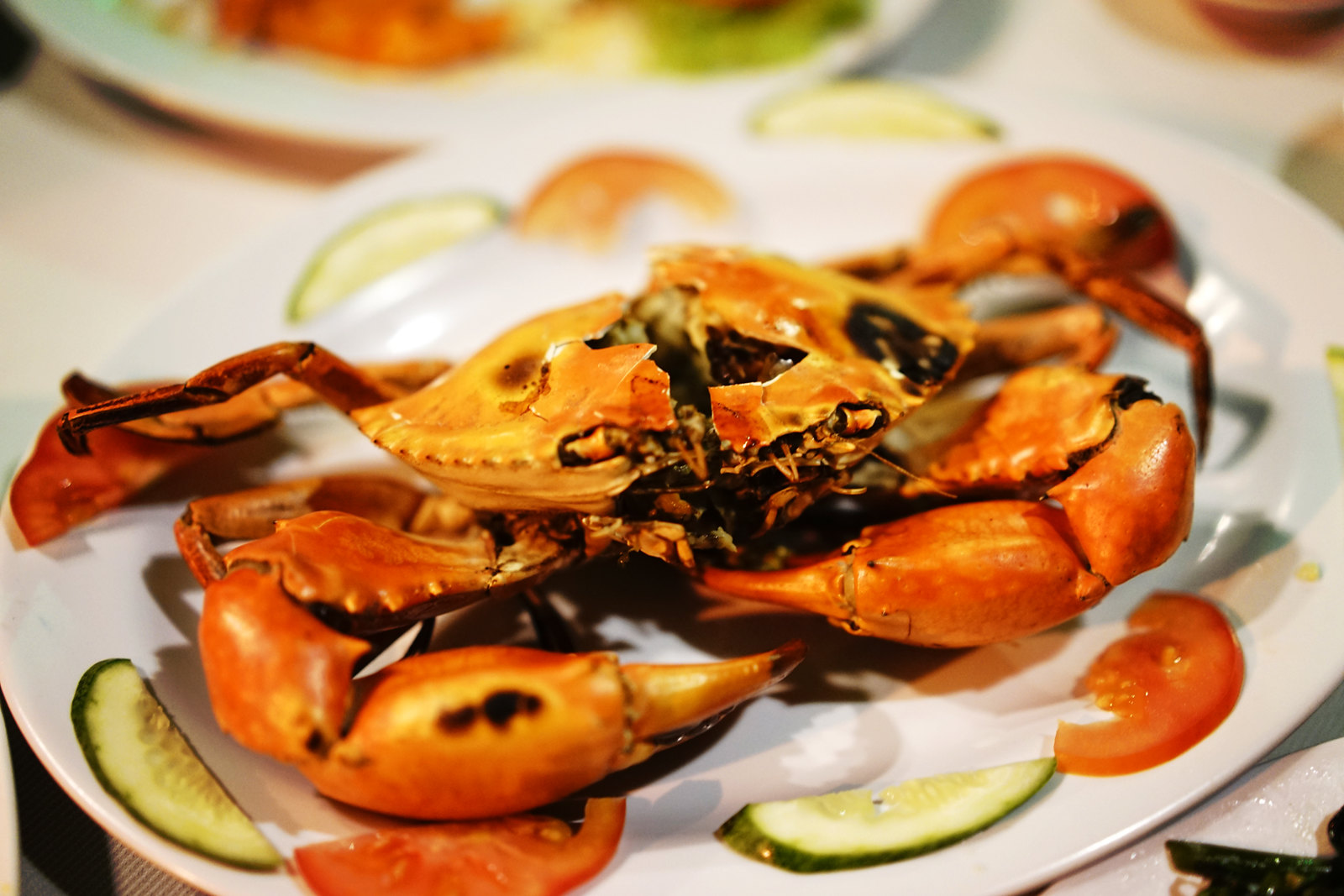 Grilled Crab from Ganh Hao in Vung Tau