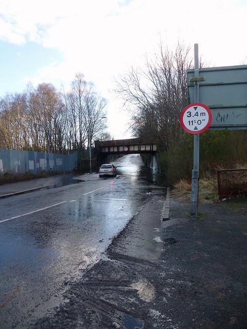 King St Bridge is Flooded Again (1)