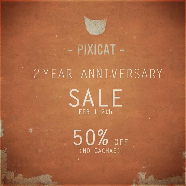-Pixicat - 2 year anniversary