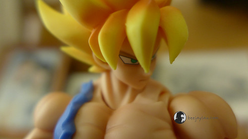 SH Figuarts Super Saiyan Son Goku Warrior Awakening