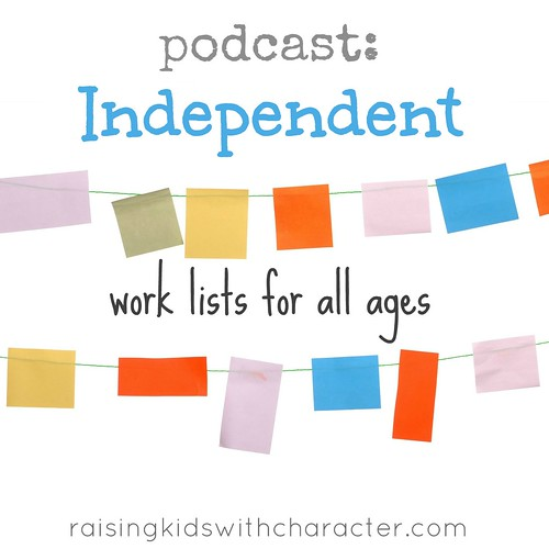 Podcast: Daily Duties--Independent Work Lists for All Ages