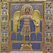Byzantine Icon of archangel Michael by petrus.agricola