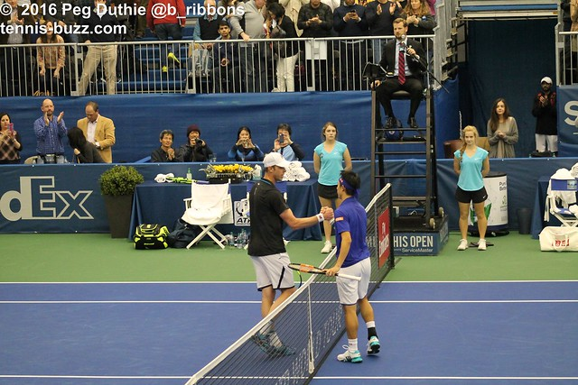 Sam Querrey and Kei Nishikori