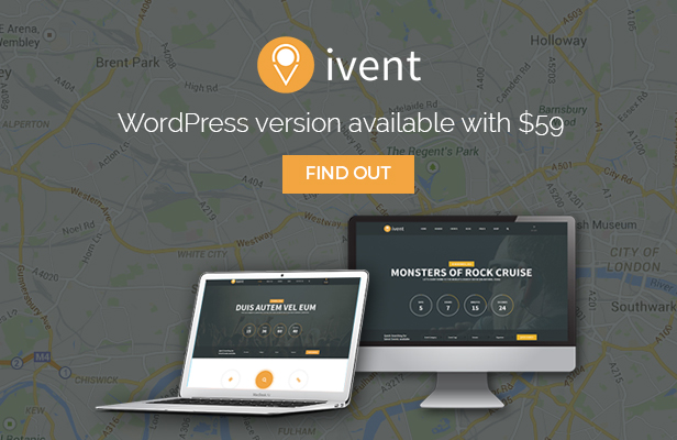 iVent Multipurpose Event WordPress Theme