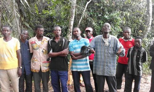 NGOMBE Tchambe holds forth