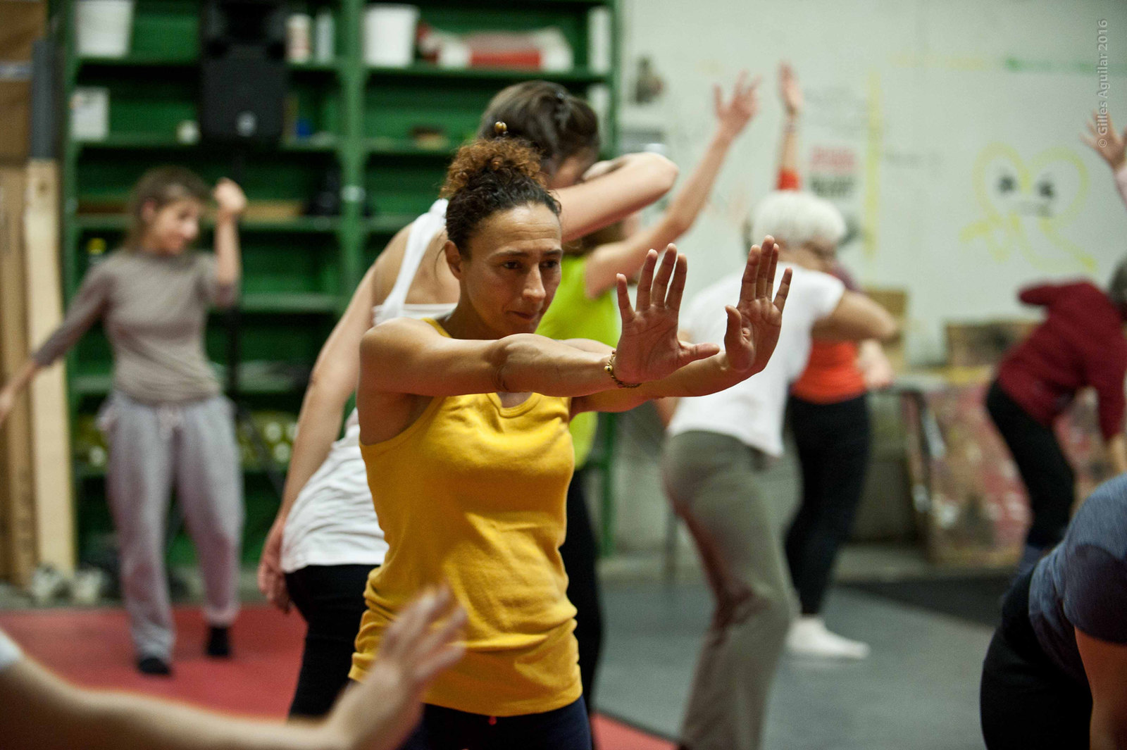 Répétition 25/02 Défilé Biennale de la Danse