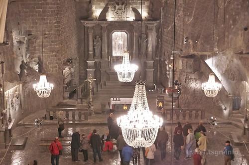 【写真】東欧周遊 : ヴィエリチカ岩塩坑