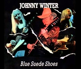 Johnny Winter's Blue Suede Shoes