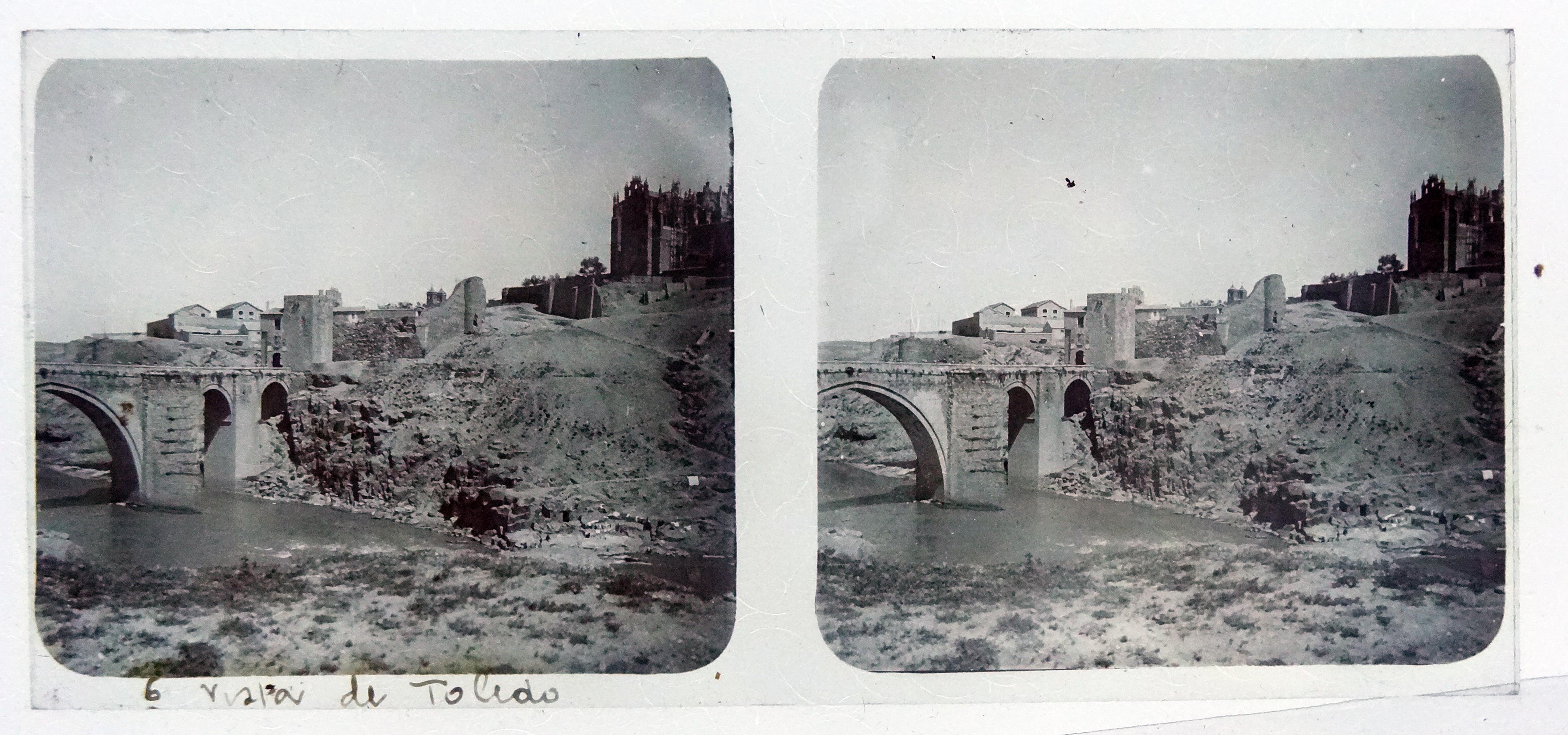 Puente de San Martín. Fotografía de Francisco Rodríguez Avial hacia 1910 © Herederos de Francisco Rodríguez Avial