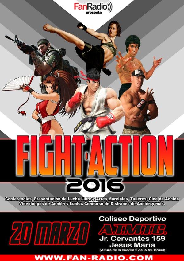 Fight Action 2016: La Primera Convención Para Los Fanáticos De La Acción Y Las Luchas