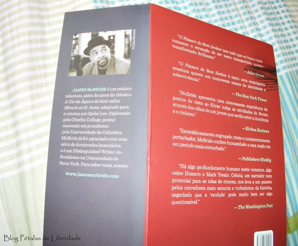 Resenha, livro, O pássaro do bom senhor, James McBride, Bertand Brasil, escritor-negro, escravidão