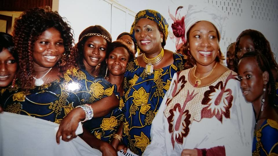 2016-3-8 Guinea: SYNEM domestic workers union met the First Lady of the country and demanded the ratification of C189
